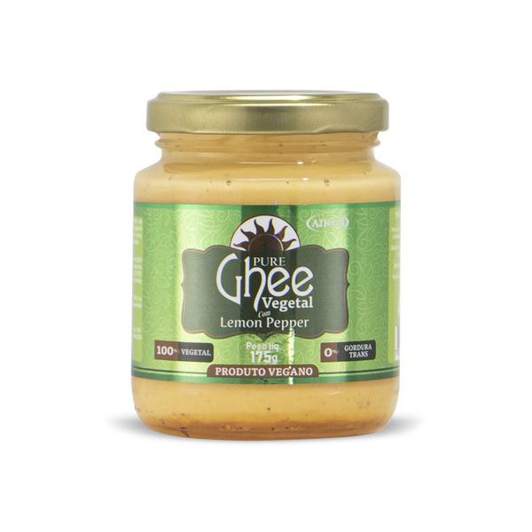 Pure Ghee Vegetal com Lemon Pepper 175g