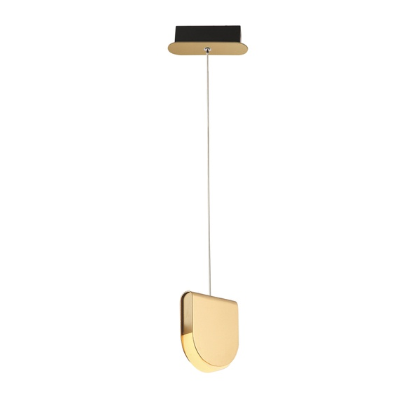 Pendente com LED Integrado 6W Dourado