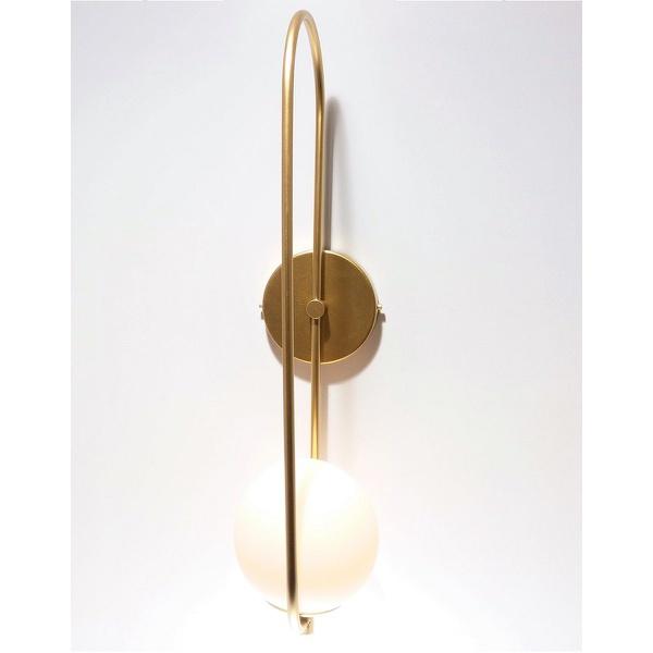 Arandela Luminária de Parede Jabuticaba Alamin - LE21/1P-Dourado