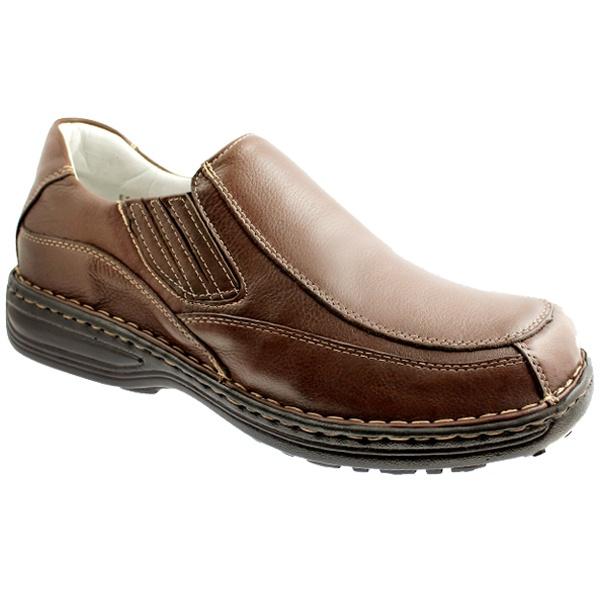 Sapato Confort Relax COURO