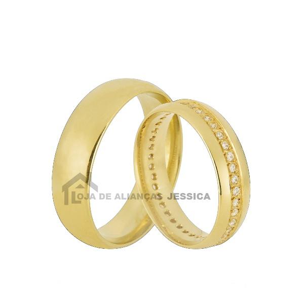 Aliança De Ouro Para Casamento