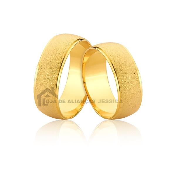 Alianças De Ouro Largas