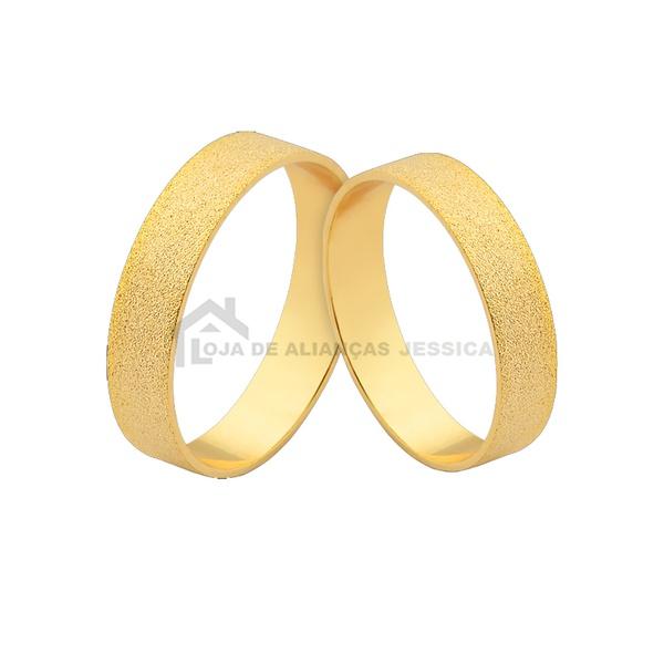 Alianças De Noivado Em Ouro - L-J-475-10k - Alianças Jessica
