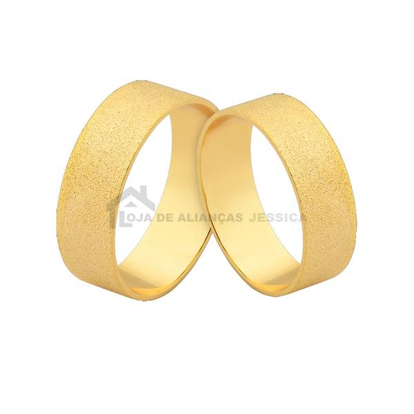 Alianças De Noivado Em Ouro - L-J-495-10k - Alianças Jessica