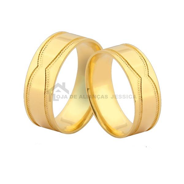 Par De Alianças Para Casamento
