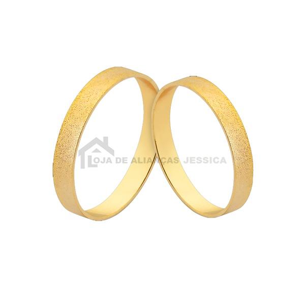Alianças De Ouro 18k Baratas Preço De Fábrica