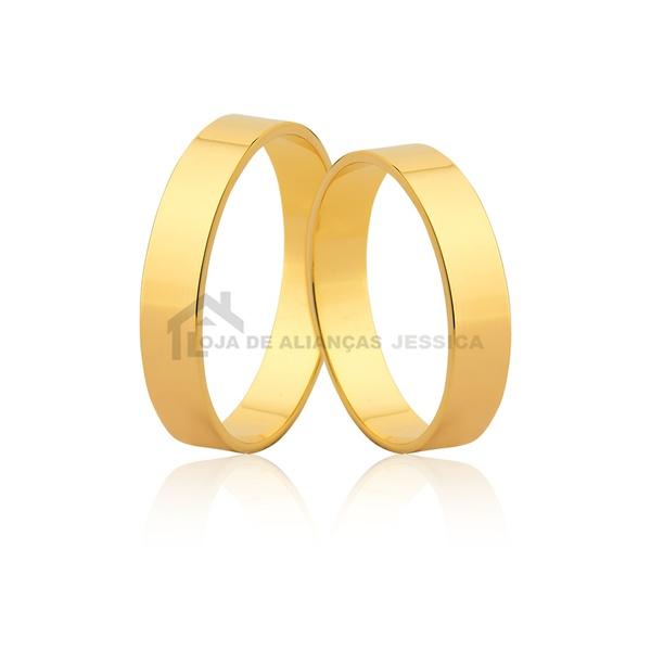 Alianças De Ouro 18k Preço Promocional