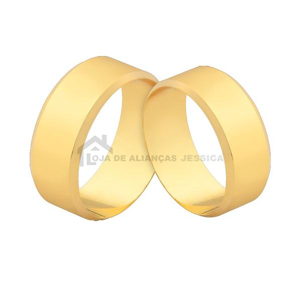 Alianças De Ouro 6,50mm Com Preço Promocional