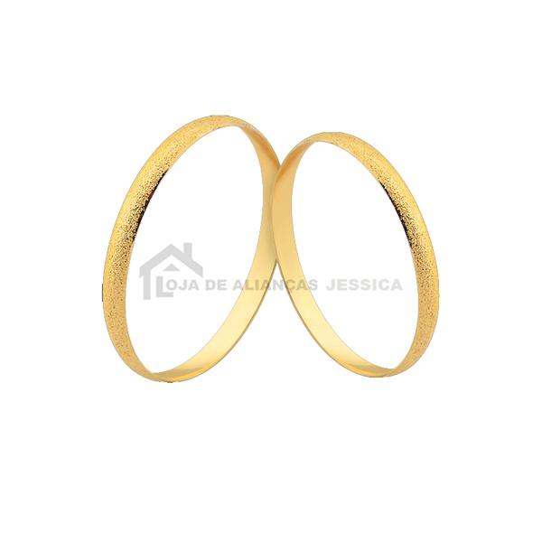 Alianças De Ouro Em Promoção - L-CM-181 - Alianças Jessica