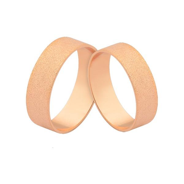 Alianças De Noivado Ou Casamento - L-J-490-R - Alianças Jessica