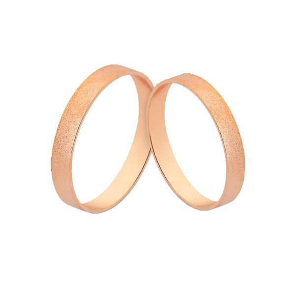 Alianças De Ouro Rosé 18k Baratas Preço De Fábrica