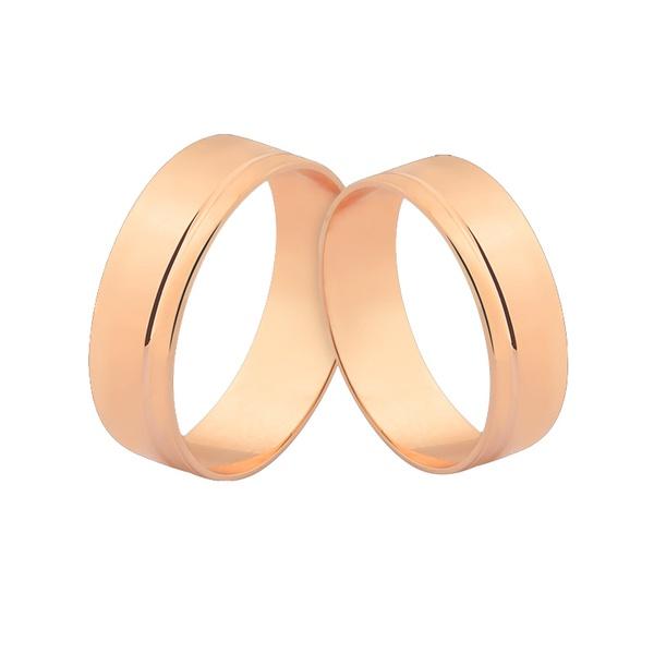 Alianças De Ouro Rosé 18k Com Preço Promocional