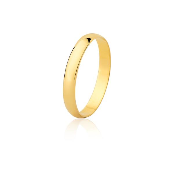 Aliança Ouro Amarelo 18k (3,00mm) - L-CM-30-u - Alianças Jessica