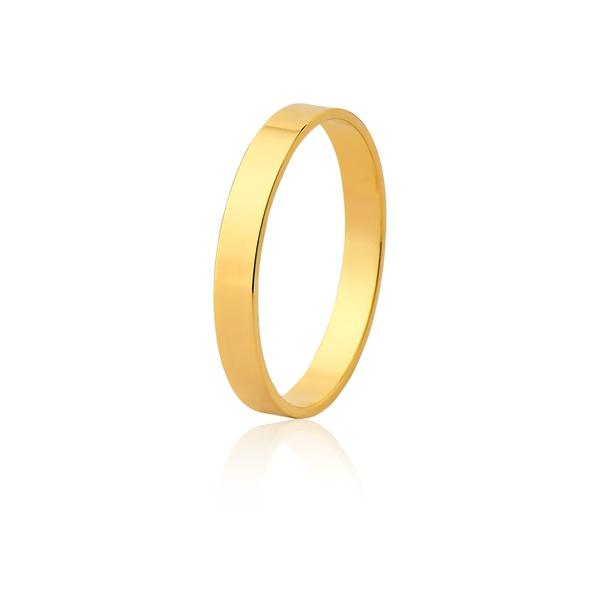 Aliança Ouro Amarelo 18k (3,00mm)