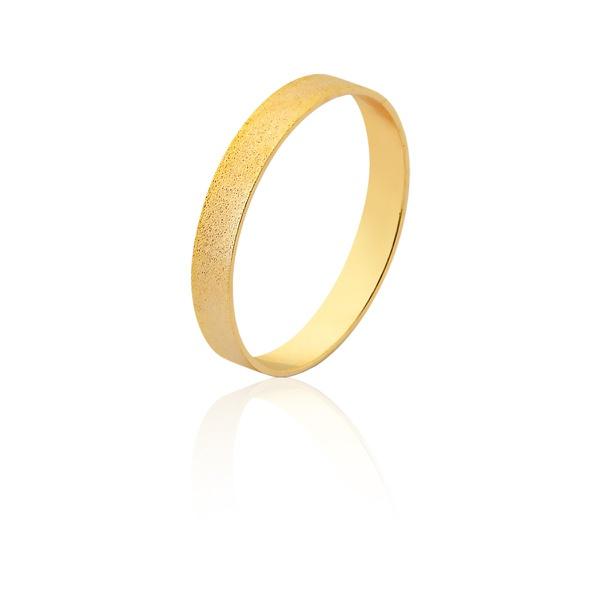 Aliança De Ouro Amarelo 18k (3mm) - L-J-460-u - Alianças Jessica