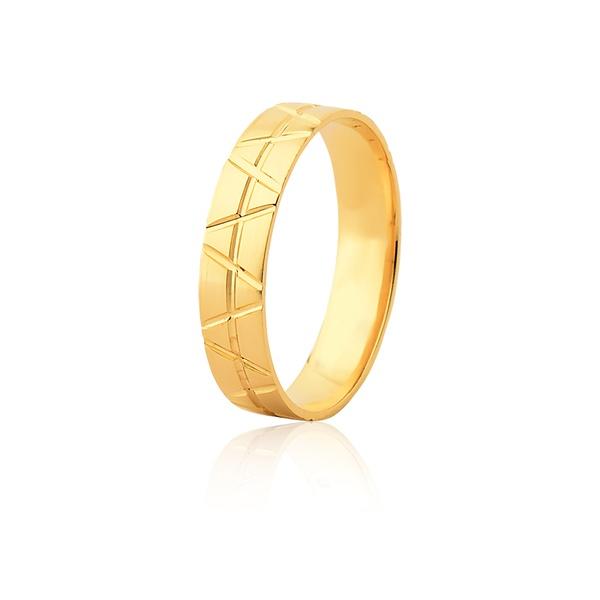 Aliança Ouro Amarelo 18k (4,80mm)