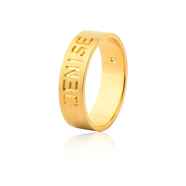 Aliança Ouro Amarelo 18k (6,00mm)