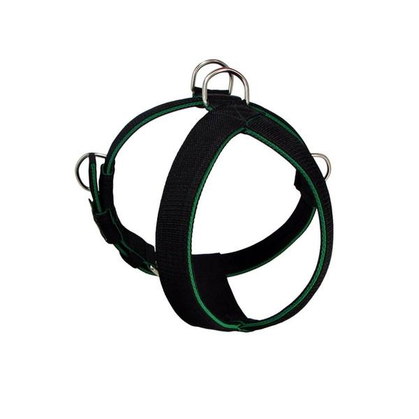Peitoral Amorosso® Tradicional (preto e verde)