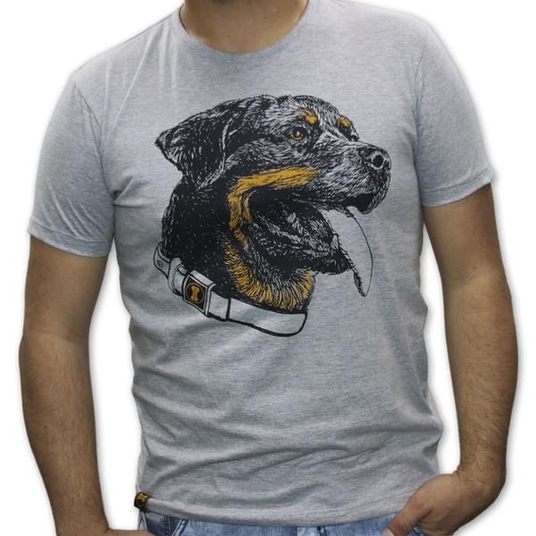 Camiseta Rottweiler Amorosso Mescla