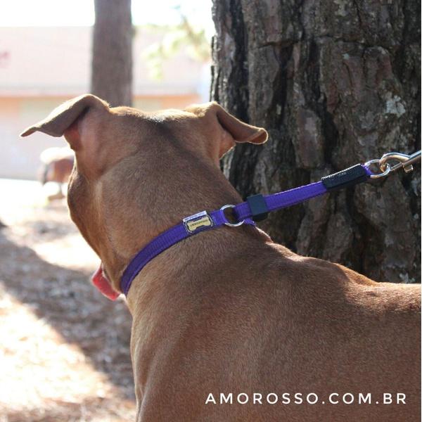 Colar de Ajuste Amorosso® (Roxo/Preto)