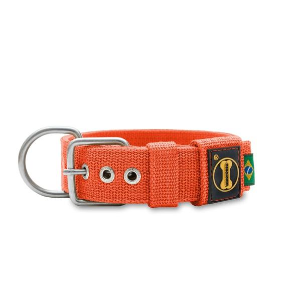 Coleira Para Cachorro Fit (laranja)