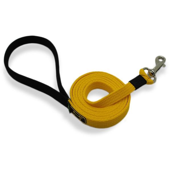 Guia Longa Amorosso® (Amarelo e Preto) 1,80m