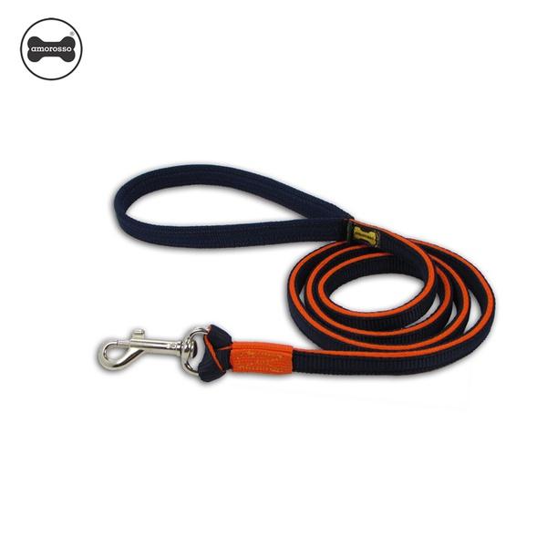 Super Guia Amorosso® (azul marinho e laranja) 1,50m