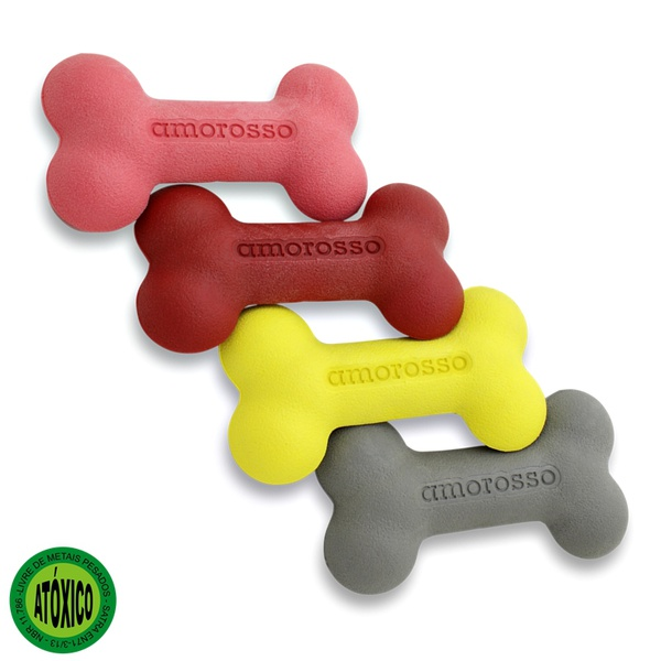 Kit com 4 Amorossinhos Grande / Rosa, Vermelho, Cinza, Amarelo