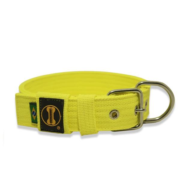 Coleira Para Cachorro Fit (amarelo flúor)