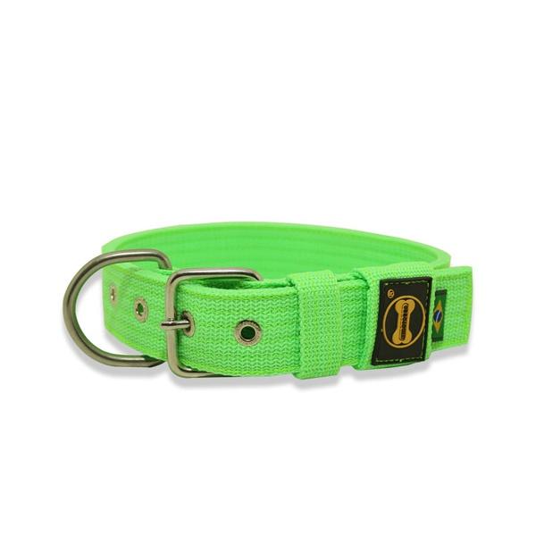 Coleira Para Cachorro Fit (Verde Flúor)