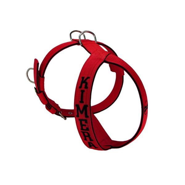 Peitoral Amorosso® Personalizado (vermelho e preto)