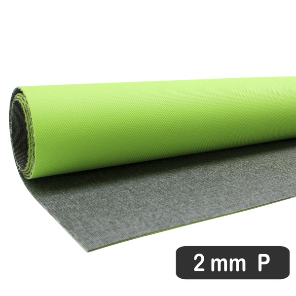 PLACA DE RESINA GRIP DE BORRACHA VERDE - FLUÍDICA 2 MM (55 X 70 CM)