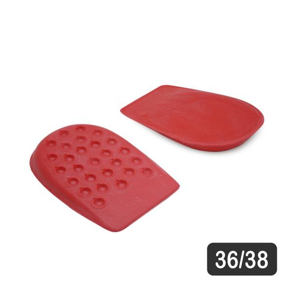 Calcanheira para conforto de Látex Vermelho 36/38 M