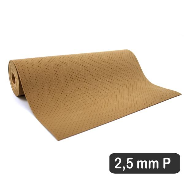 2,5 MM COBERTURA OCRE PERFURADO P (180 X 31 CM)