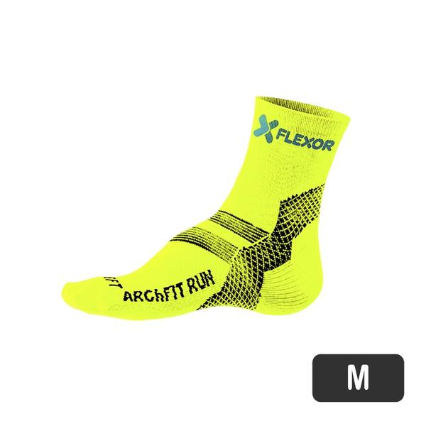 Meias Fx Sport - Fascite - Amarelo Flúor 37-40
