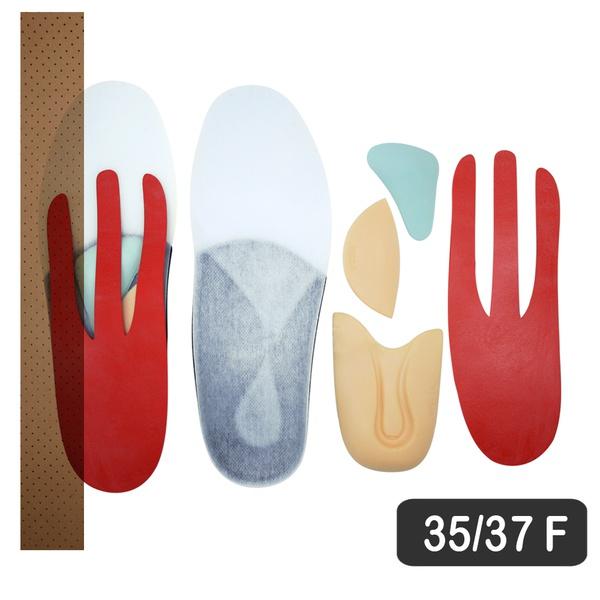 KIT RESIFLEX -FASCITE PLANTAR 35-37 BR FEMININA