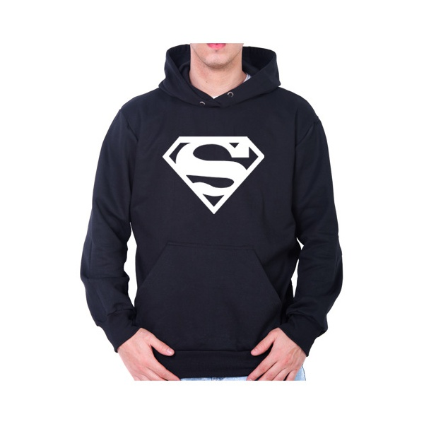 Moletom Unissex Superman - Preto