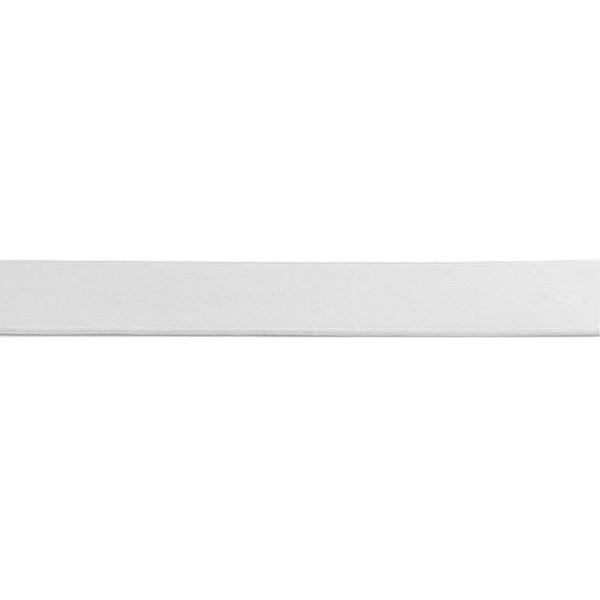 Elástico Zap 209 (Tela) Branco 25mm 1 Metro