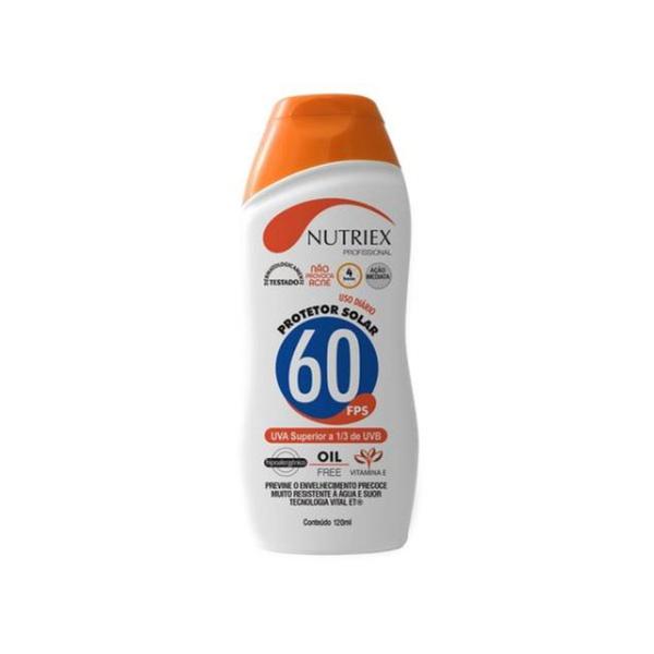 PROTETOR SOLAR 60FPS (120ML) - NUTRIEX