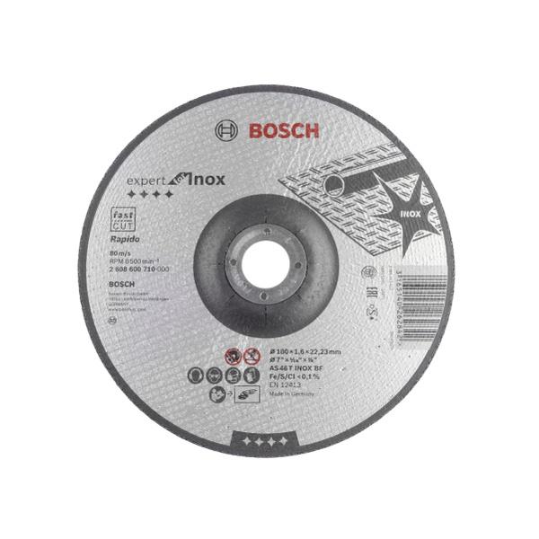 DISCO CORTE INOX 180MMX1,6 BOSCH EXPERT
