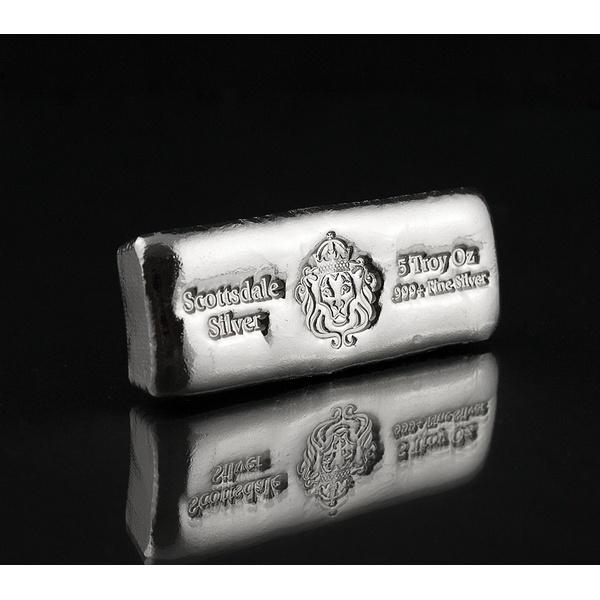 5 oz Scottsdale Mint Silver Cast Bar