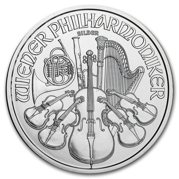 2016 Austria 1 oz Silver Philharmonic