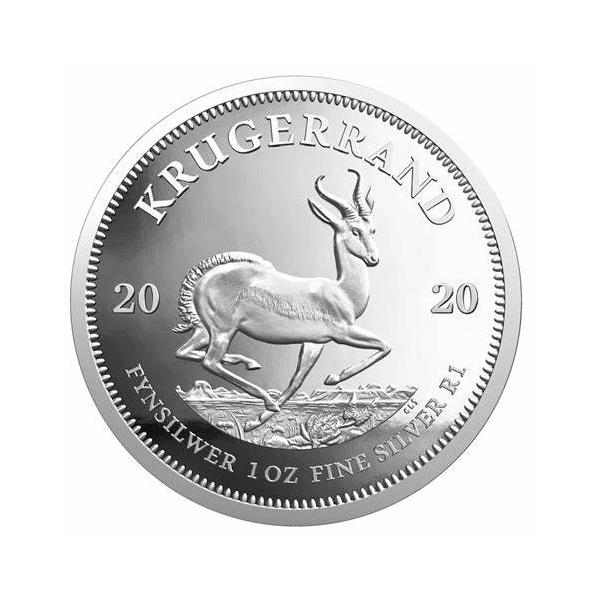 2020 Silver South Africa Krugerrand – 1 oz