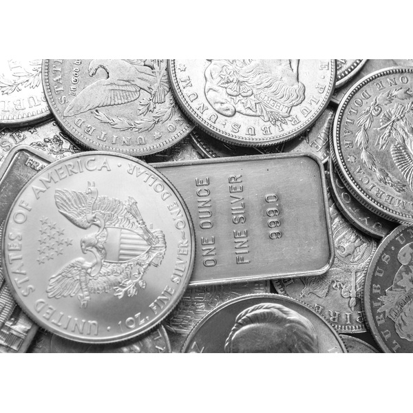3 Random Silver 1 oz 999