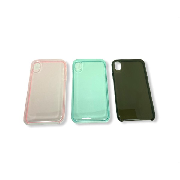 Case Clear Colors - IPHONE X / XS