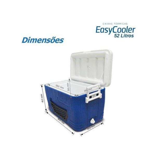 Caixa Térmica EasyCooler 52 litros