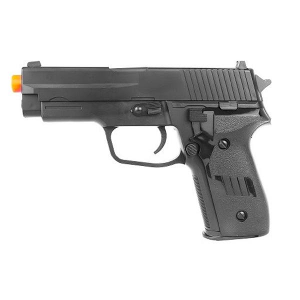 Pistola De Airsoft Vigor Vg P226 2124 Mola 6mm Spring