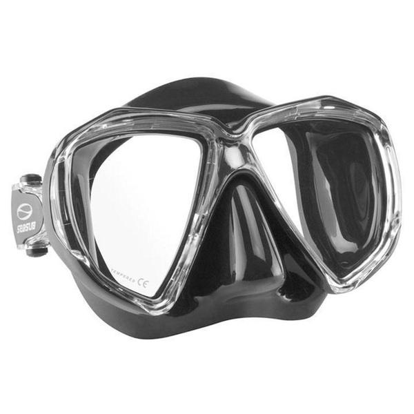 Máscara Mergulho Seasub Supra - Preto