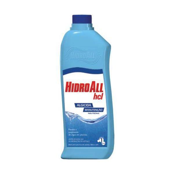Algicida de Manutenção HCL - 1L