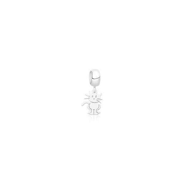 Berloque em Prata 925 Gato